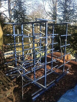 Mobile Pipe Rack Trolley Suitable For Timber etc