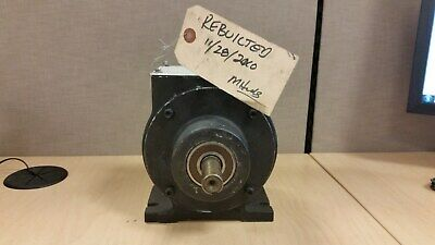 Warner EP-400 Base Mounted Clutch/Brake, 24vdc, Rebuilt and Shelved 2010
