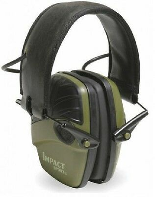 Howard Leight Honeywell Impact Sport Ear Sound Protector Earmuff shooting GREEN