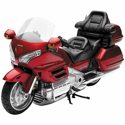 New Ray Toys 1:12 Scale Street Model - Honda 2010 Goldwing Burgandy 57253A