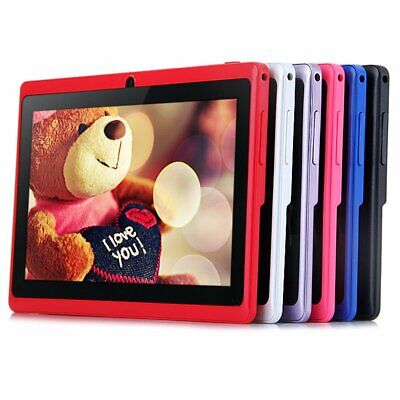 7 INCH KIDS ANDROID TABLET PC QUAD CORE 4GB WIFI CHILDREN Gift UK STONK lot NCD
