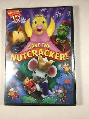 DVD Save the Nutcracker Sealed Nickelodeon Wonder Pets