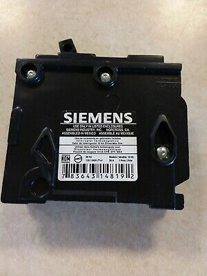 Siemens ITE 20Amps 1Pole Molded Case Plug-In Circuit Breaker Type QP