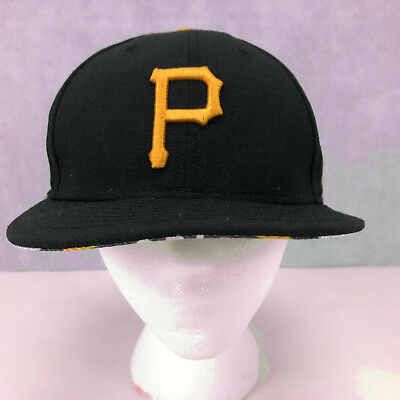 New Era Cooperstown Pittsburgh Pirates 1960 World Series Fitted Cap Size 7.25