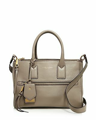 ccf3fdcac22a MARC JACOBS RECRUIT East West Leather Tote Bag (Dove White Gold ...