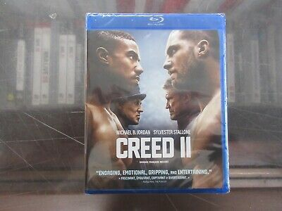 BRAND NEW Creed 2 (Blu Ray + DVD + Digital)