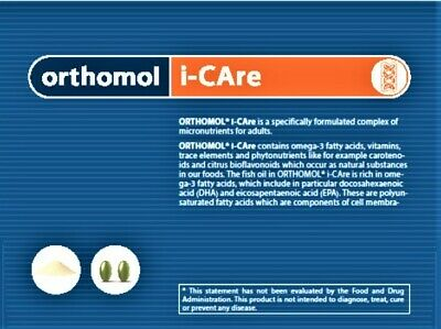 ORIGINAL ORTHOMOL® i-CAre - Micronutrient support for adults