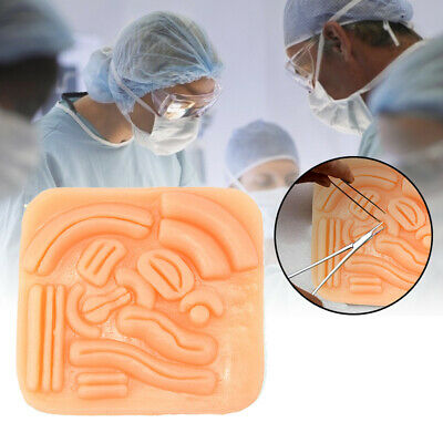 3D Medical Skin Suture Pad Kit Model Wound Surgical Training Student Practice