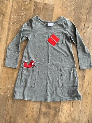 c2fae2e0c1 NWT SZ 80 Hanna Andersson Gnome Sweet Gnome Sweater Dress Navy US 18 ...