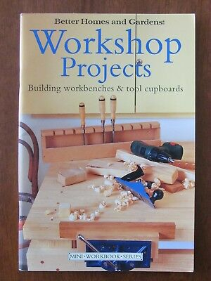 Workshop Projects (Mini Better Homes & Gardens) Workbenches & Tool Cupboards