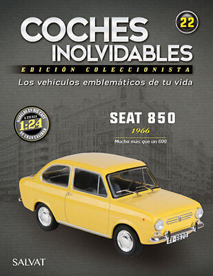 ☆ Fasciculo Nº 22 - Coches Inolvidables - Seat 850 1966