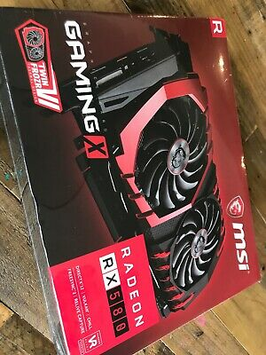 MSI Radeon RX 580 Gaming X 8Gb Graphics Card - Brand new. Sealed in box.