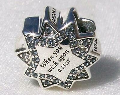 PANDORA Disney When You Wish Upon a Star Charm NEW #797490NBL
