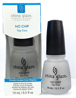 China Glaze Treatment - NO CHP Top Coat - Prevent Lacquer From Chipping 0.5oz