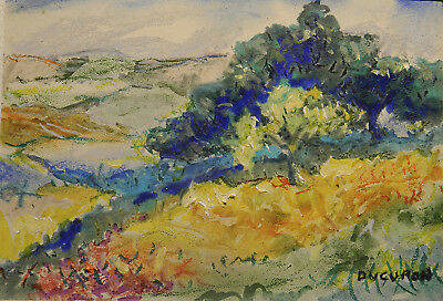 "Impressionism Oil Fine Art. Warmness. Ducuron. International artist. 9""x11"""