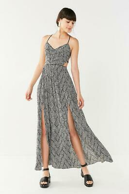 dd4e8608274 NWOT URBAN OUTFITTERS UO GIA LACE-UP MAXI DRESS sz S) -  29.99 ...