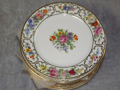 Rosenthal The Dresden Salad Plates Flowers selling in sets of 4