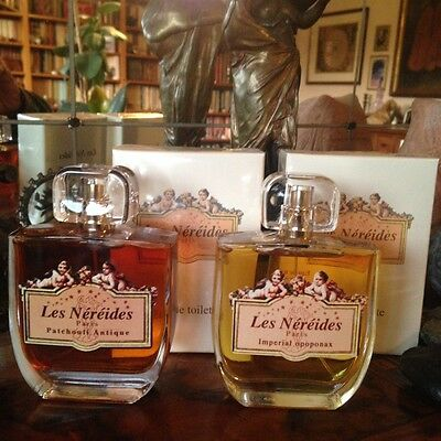 Rare! Les Nereides Imperial Opoponax + Patchouli Antique EDT Old Version 100mlx2
