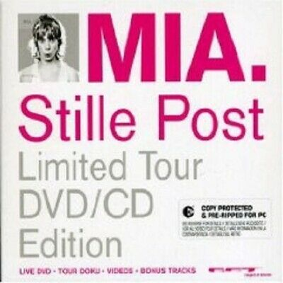 "Mia. ""Stille Post (Tour Edition)"" Cd+Dvd New! Pop"