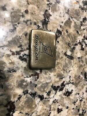 SPP-556 VINTAGE 1970's NEW SNAP-ON TOOLS COMPANY SOLID BRASS BTS BELT BUCKLE