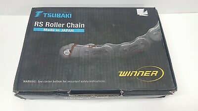 Tsubaki Rs Roller Chain RS12B-2 Industrial Automation Conveyor Japan 10ft 3.048m