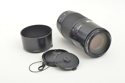 """EXC+++ MINOLTA AF 70-210mm F4 """"BEERCAN""""  ZOOM FOR SONY A OR MAXXUM w/HOOD, CAPS"""