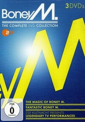 Boney M. - The Complete Dvd Collection 3 Dvd New!