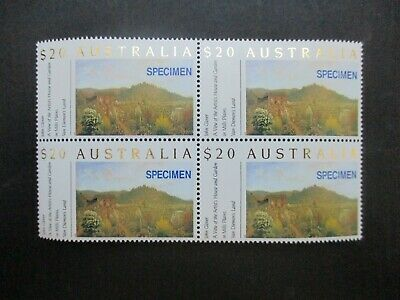 Australian Decimal Stamps: Block (MNH) - Great Item, Must Have! (N2693)
