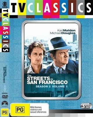 The Streets Of San Francisco : Season 2 : Vol 1 (DVD, 2009, 3-Disc Set)
