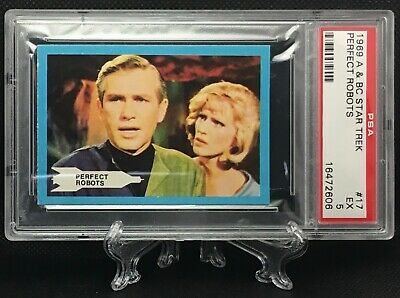 1969 Star Trek PERFECT ROBOTS #17 EXCELLENT 5 - A&BC garno PSA
