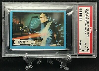 1969 Star Trek SHATTERED BY RAYS #14 EXCELLENT-MINT 6 - A&BC garno PSA
