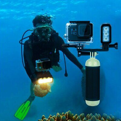Underwater Waterproof LED Diving Video Light for GoPro Photography Light AU
