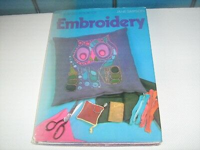 The Basic Book Of Embroidery By Jane Simpson (1973)