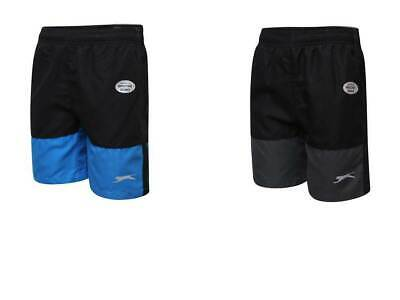 Slazenger Boys Kids Sports Shorts Pant Junior Trousers Lightweight Bottoms