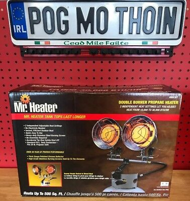 85f27e2d42 NEW MR. HEATER Double Tank Top Outdoor Propane Heater MH30T -  89.99 ...