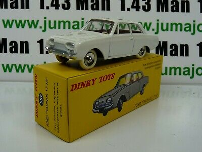 Voiture 1/43 réédition DINKY TOYS DeAgostini : Ford Taunus 17M