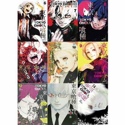 Tokyo Ghoul Volume 6-14, 9 Book Collection Set By Sui Ishida Paperback NEW