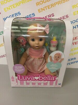 Luvabella - Blonde Hair Doll - 500 Responses, Interactive - NEW, Boxed