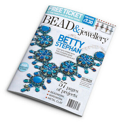 Bead & Jewellery Magazine Issue 93 April/May 2019 (D24/17)