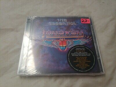 Journey The Essential greatest hits , brand new still sealed ,2001, 2 Discs