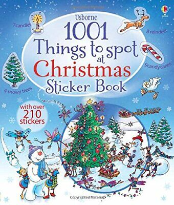 1001 Christmas Things to Spot Sticker Book (1001 Things to Spot Sticker Books)-