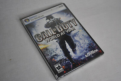 Call of Duty World at War PC COD -  BRAND NEW/SEALED -  FREE US Shipping