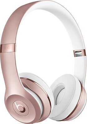 Beats By Dr. Dre Solo 3 Wired Rose Gold Headphones MUST READ FIRST