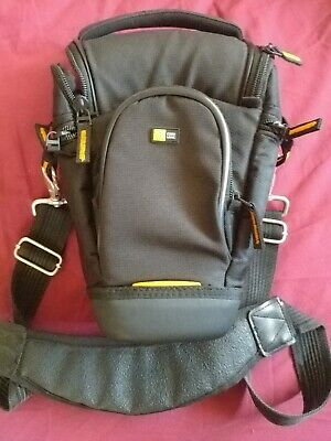 "Case Logic""SLR Zoom Holster"" Camera Case, Suspension System, Pockets, Strap Exc."