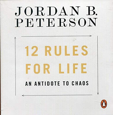 Pre - Order 12 Rules for Life: An Antidote to Chaos (Audio CD)