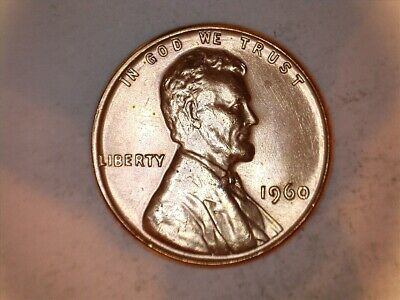 1960-P Lincoln Cent Two Coin Small and Large Date Penny Variety Set - BU