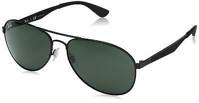 5ba68f9c48c Ray Ban RB3549 006 71 61mm Black Metal Frame Green Classic Lens Sunglasses
