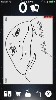Topps Star Wars Digital Card Trader White Within The Lines Jabba The Hutt Insert
