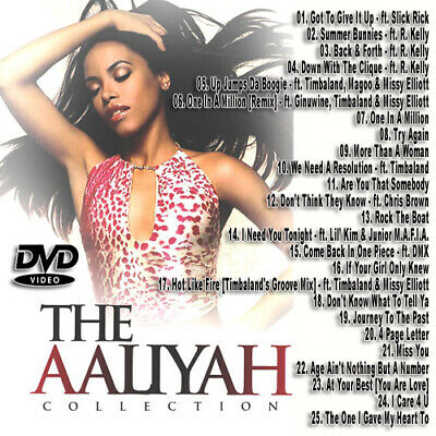 Best Of AALIYAH DVD VIDEO Compilation Mix DVD