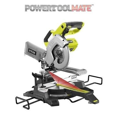 Ryobi R18MS216-0 18V ONE+ Cordless Sliding Compound Mitre Saw (Zero Tool)